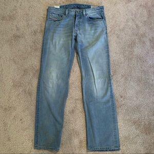 Diesel Mens Larkee Straight Leg Jeans 34 33 W 32 L